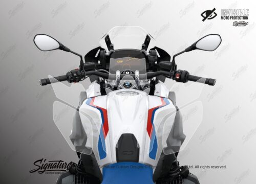 BPRF 4253 BMWR1250GS Style Rally Tank Set Protective Films 02