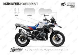BPRF 4254 BMWR1250GS Style Rally Instruments Set Protective Films