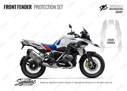 BPRF 4255 BMWR1250GS Style Rally Front Fender Protective Films
