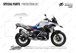 BPRF 4256 BMWR1250GS Style Rally Special Parts Protective Films