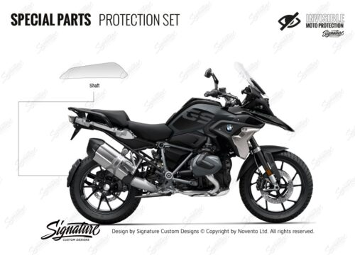 BPRF 4261 BMWR1250GS Trible black Special Parts Protective Films