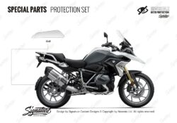 BPRF 4275 BMWR1250GS Light White Special Parts Protective Films