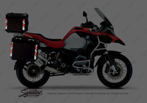 BSTI 4133 BMW Top Box Black Black Red Reflective StripsNight 02