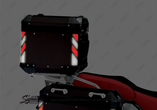 BSTI 4133 BMW Top Box Black Black Red Reflective StripsNight 04