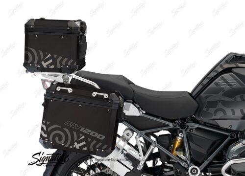 BSTI 4139 BMW Top Box Black Four Elemenets Grey Silver 02