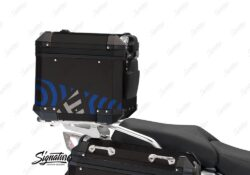 BSTI 4142 BMW Top Box Black Four Elemenets Blue Silver 03