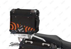 BSTI 4144 BMW Top Box Black Four Elemenets Orange Silver 03