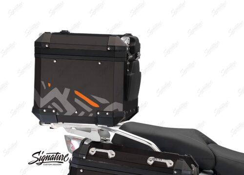 BSTI 4160 BMW Top Box Massail Orange Silver 03