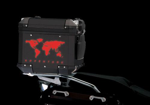 BSTI 4178 BMW Top Box The Globe Reflectives Red night