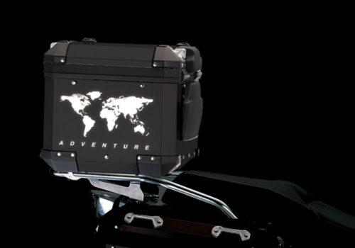 BSTI 4178 BMW Top Box The Globe Reflectives White night