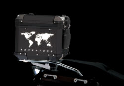 BSTI 4178 BMW Top Box The Globe Reflectives black night