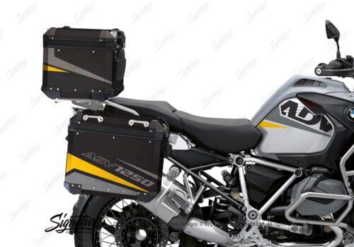 BSTI 4196 BMW Top Box Vivo Yellow Silver 02