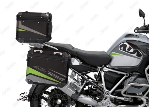 BSTI 4198 BMW Top Box Vivo Toxic Green Silver 02