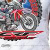 HTSH 4282 Honda CRF250 Rally Rider T Shirt White 02 2
