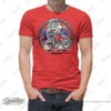 HTSH 4283 Honda CRF250 Rally Rider T Shirt Red 01 1