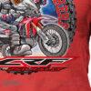 HTSH 4283 Honda CRF250 Rally Rider T Shirt Red 02 1