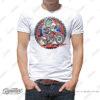HTSH 4285 Honda CRF250L Rider T Shirt White 01 1
