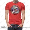 HTSH 4286 Honda CRF250L Rider T Shirt Red 01 1