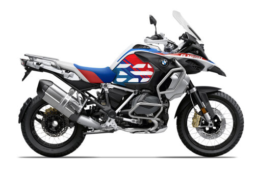 SIG 1001 02 SR BMW R1250GS Adventure Style Rally Anniversary Styling Stickers 01