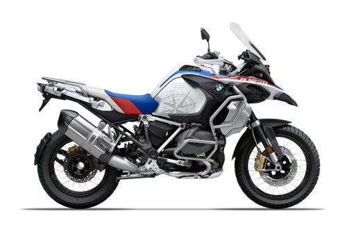 SIG 1007 02 SR BMW R1250GS Adv Compass side tank Styling Stickers 01