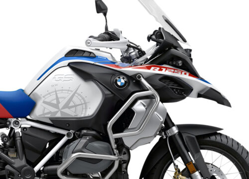 SIG 1007 02 SR BMW R1250GS Adv Compass side tank Styling Stickers 02