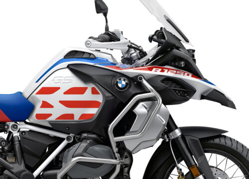 SIG 1034 02 SR BMW R1250GS Adv GS Line Side Tank Red Stickers 02
