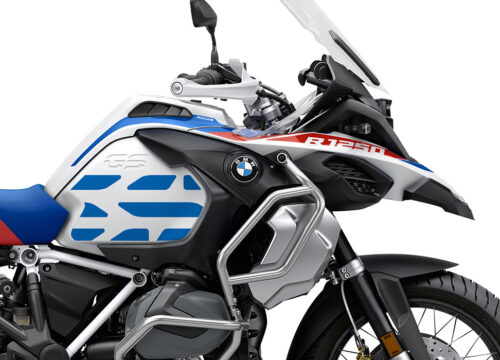 SIG 1035 02 SR BMW R1250GS Adv GS Line Side Tank Blue Stickers 02