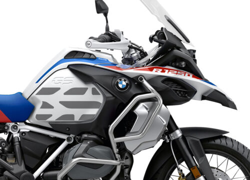 SIG 1036 02 SR BMW R1250GS Adv GS Line Side Tank Silver Stickers 02