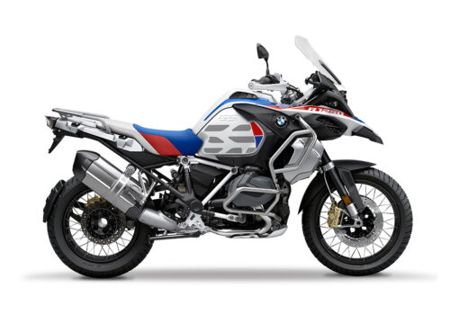 SIG 1037 02 SR BMW R1250GS Adv GS Lines Style HP Rred Blue Stickers 01