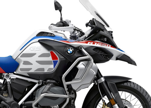 SIG 1037 02 SR BMW R1250GS Adv GS Lines Style HP Rred Blue Stickers 02