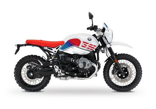 BKIT 3143 BMW RnineT Urban GS Limited Edition Side Tank and Front Fender MSport Stickers Kit 01