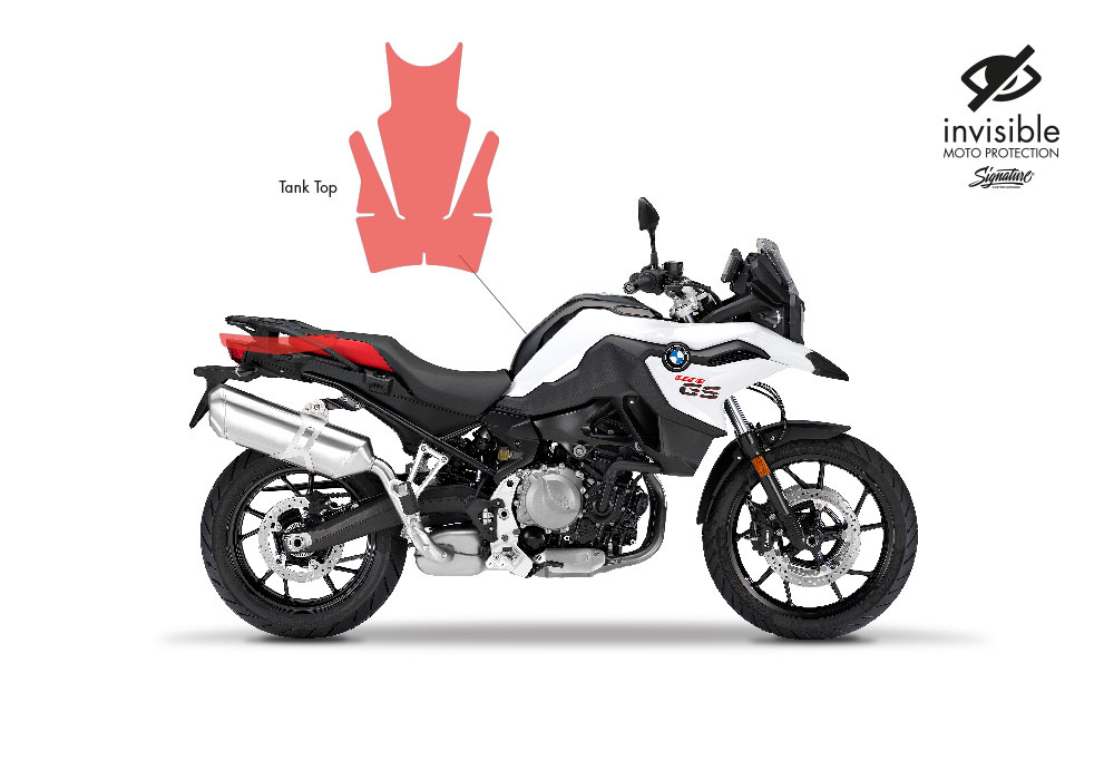 SIG 1027 02 BMW F750GS Tank Top Protective Films