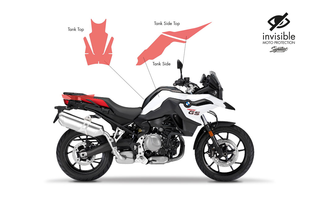SIG 1031 02 BMW F750GS Basic Package Protective Films