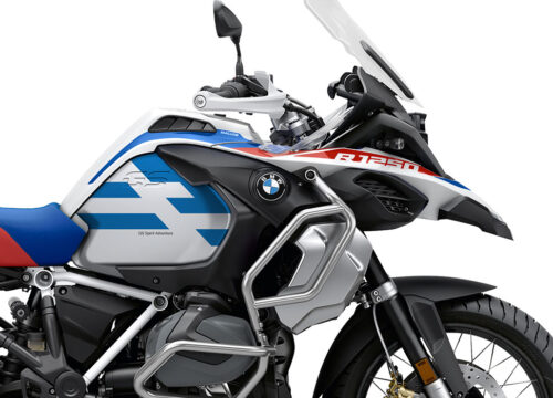 SIG 1039 02 BMW R1250GS Adv Spirit Lines Blue Stickers 02