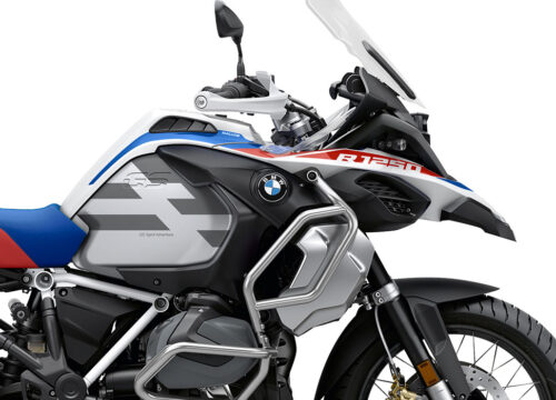 SIG 1040 02 BMW R1250GS Adv Spirit Lines Silver Stickers 02