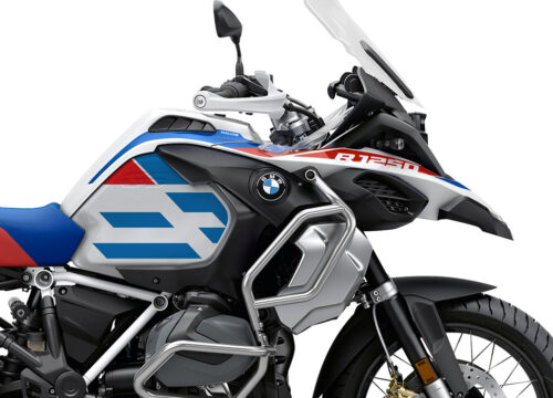 SIG 1041 02 BMW R1250GS Adv Spirit Lines Red Blue Stickers 02