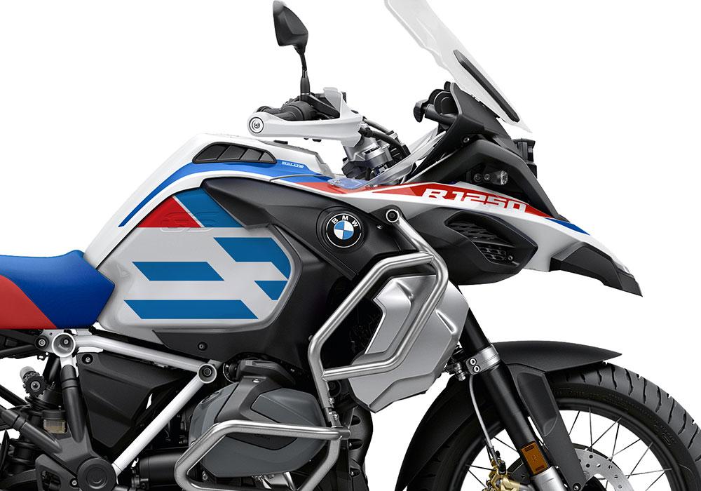 SIG 1041 02 BMW R1250GS Adv Spirit Lines Red Blue Stickers 02