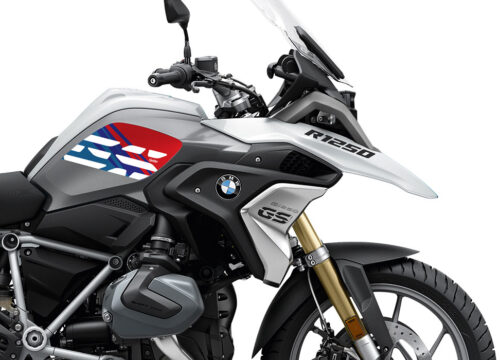 SIG 1042 02 BMW R1250GS Light White Anniversary Msport Tank Stickers 02 1