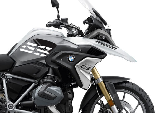 SIG 1047 02 BMW R1250GS Light White Anniversary Black Tank Stickers 02 1