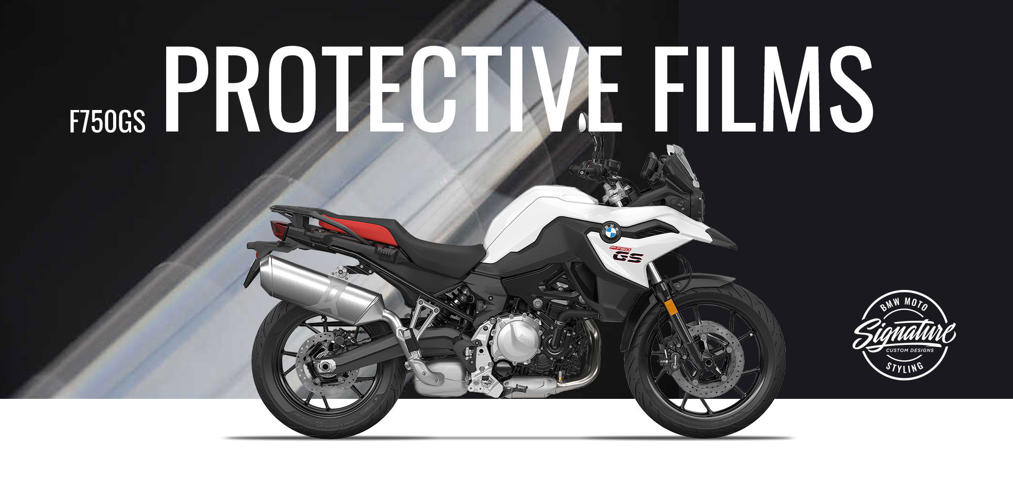 Webside Slider F750GS Protective Films 2