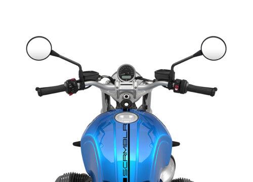 SIG 1056 03 BMW RnineT Scrambler Black Lines Cosmic Blue Metallic 1