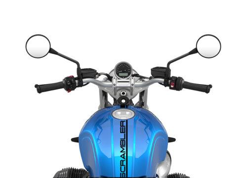 SIG 1056 03 BMW RnineT Scrambler Black Lines Cosmic Blue Metallic