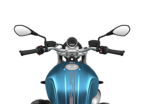 SIG 1059 02 BMW RnineT Pure Dark Silver Lines Blue Metallic Matte 1