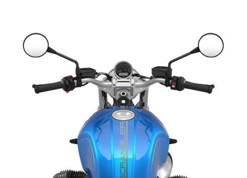 SIG 1059 03 BMW RnineT SCrambler Dark Silver Lines Cosmic blue Lines 1