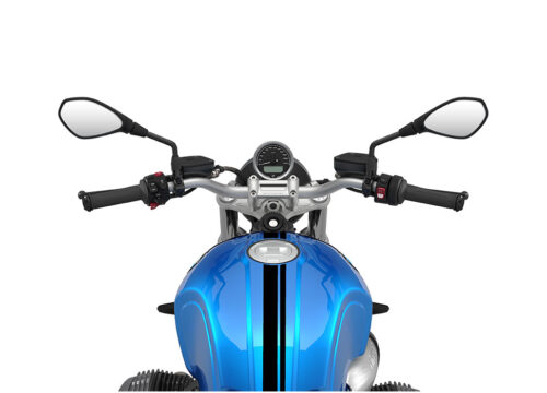 SIG 1064 02 BMW RnineT Pure Black Double Lines Cosmic