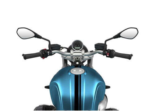 SIG 1064 02 BMW RnineT Pure Black Double Lines Teal