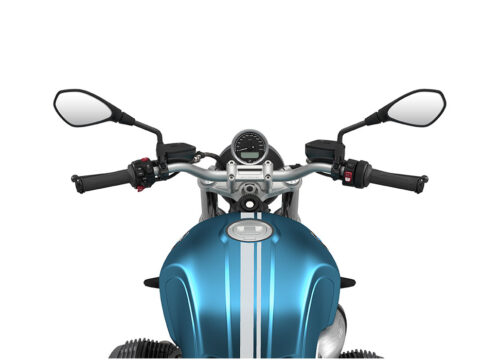 SIG 1065 02 BMW RnineT Pure Silver Double Lines Teal