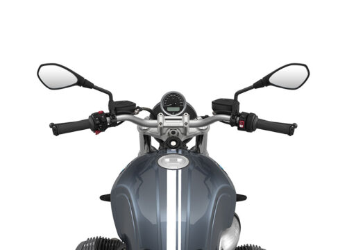 SIG 1066 02 BMW RnineT Pure White Double Lines Mineral