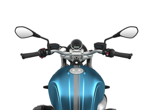 SIG 1067 02 BMW RnineT Pure Dark Silver Double Lines Teal 1