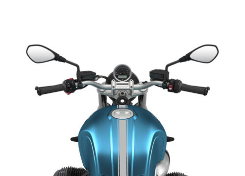 SIG 1073 02 BMW RnineT Pure Silver Triple Lines Teal